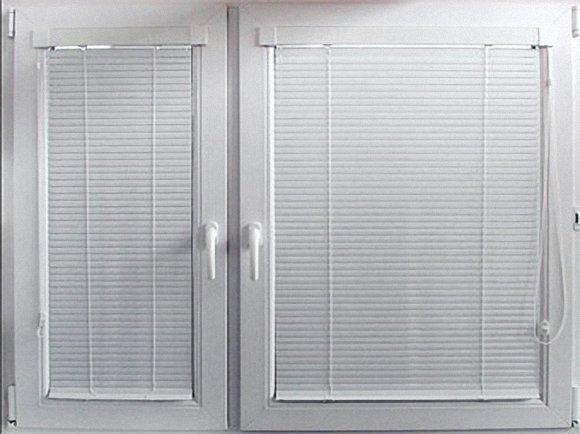 Горизонтальные алюминиевые жалюзи купить в Днепре у компании Теплые Окна