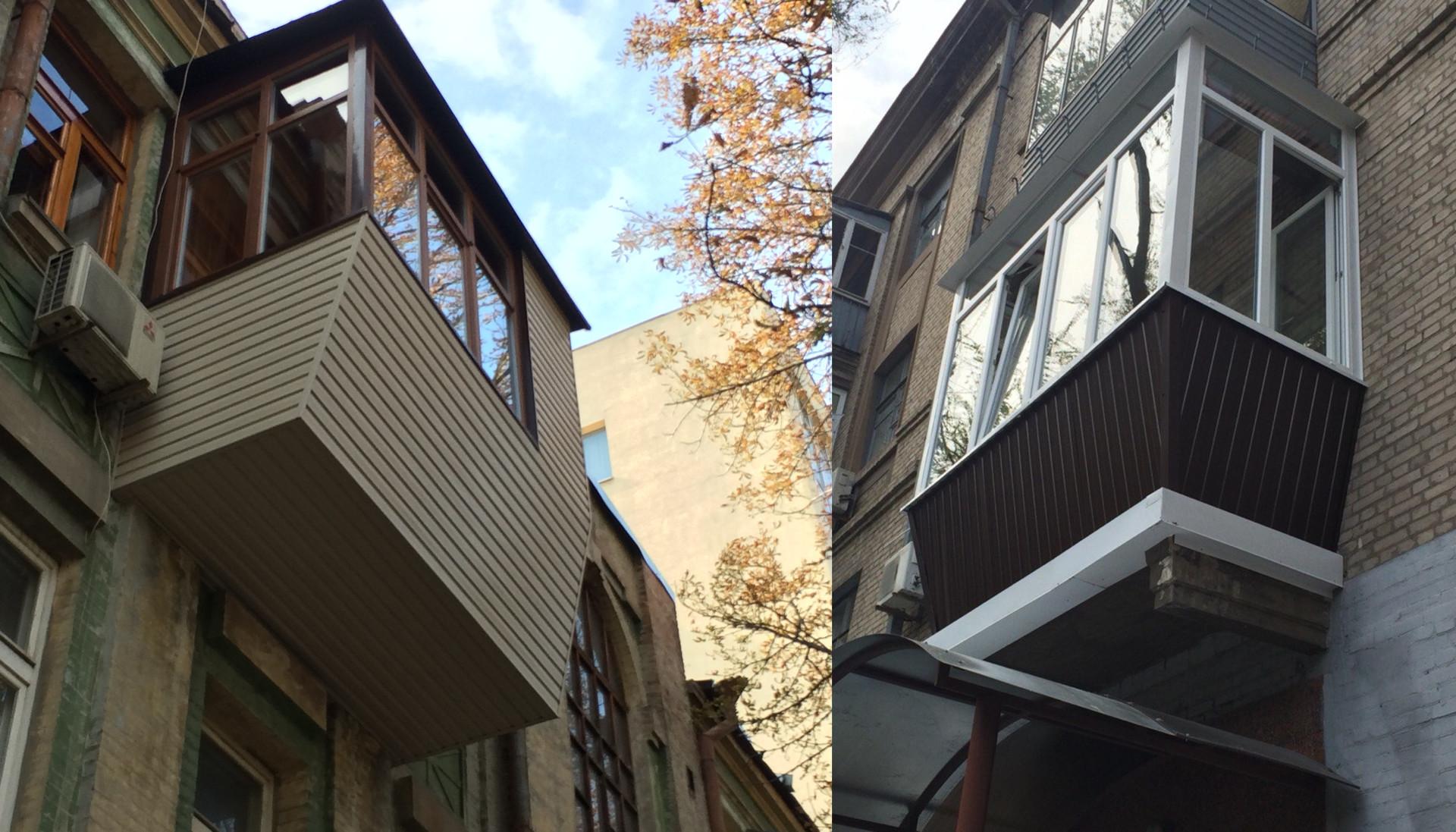 остекление балкона под ключ в Днепре
