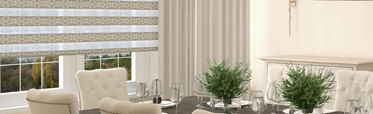 Подчеркните безупречный интерьер вашего дома используя рулонные шторы