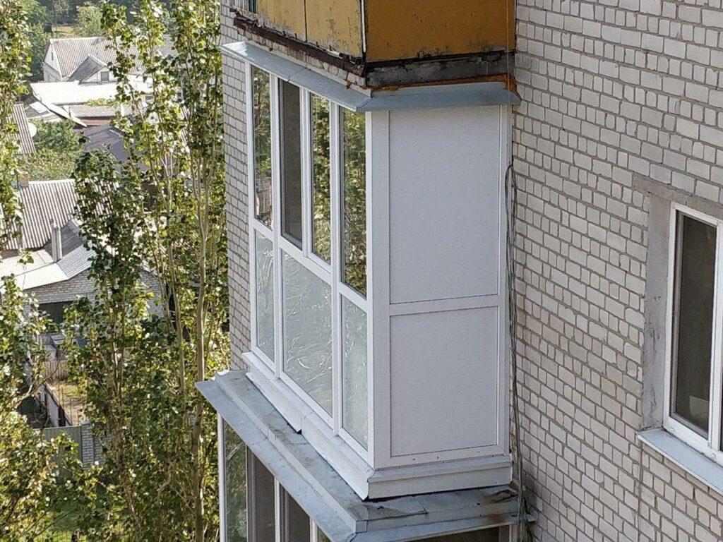 Балкон в Днепре по улице Калиновая